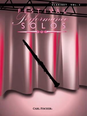 Festival Performance Solos Clarinet Vol.2 - Partition - di-arezzo.fr