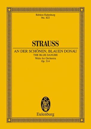 An der schönen blauen Donau op. 314 Johann (Fils) Strauss laflutedepan