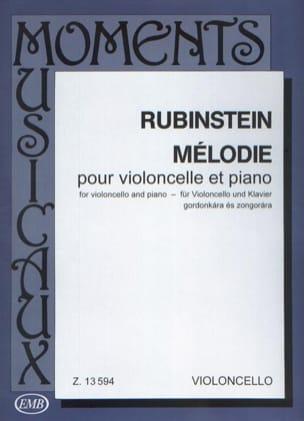 Mélodie op. 3 n° 1 Anton Rubinstein Partition laflutedepan