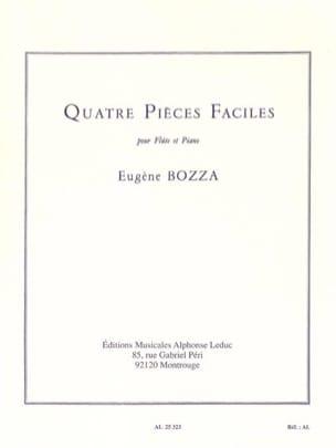 Eugène Bozza - 4 easy parts - Sheet Music - di-arezzo.co.uk