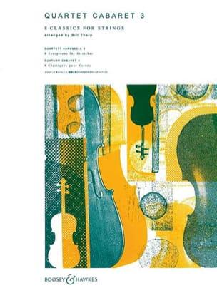 Bill Thorp - Quartet Cabaret, Volume 3 - Partition - di-arezzo.fr