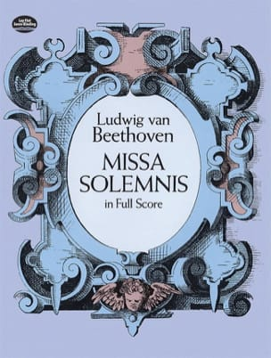 BEETHOVEN - Missa Solemnis - Full Score - Partition - di-arezzo.fr