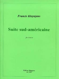 Francis Kleynjans - South-American Suite in Mi Min. Op 149 - Sheet Music - di-arezzo.co.uk