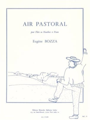 Eugène Bozza - Air pastoral - Partition - di-arezzo.fr