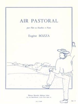 Eugène Bozza - Aire pastoral - Partitura - di-arezzo.es