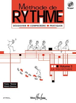 Teslar Yves / Gevrey Alexis - Rhythm Method - Volume 3 - Sheet Music - di-arezzo.co.uk