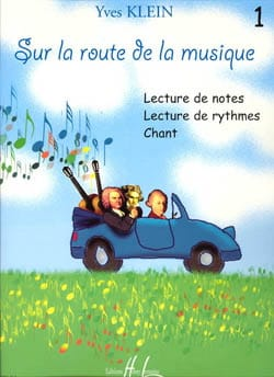Yves Klein - On the road to music - Volume 1 - Sheet Music - di-arezzo.com