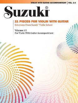 Suzuki - 21 Pieces for Violin and Guitar - Sheet Music - di-arezzo.co.uk
