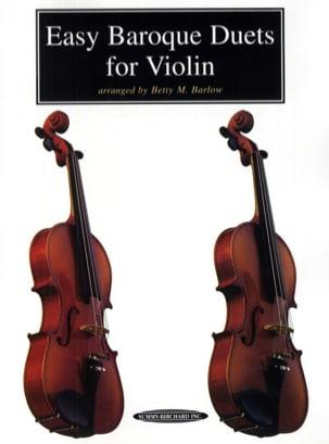 Easy Baroque Duets For Violin - Suzuki - Partition - laflutedepan.com
