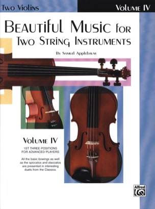 Beautiful Music For 2 Violins Volume 4 - Sheet Music - di-arezzo.com