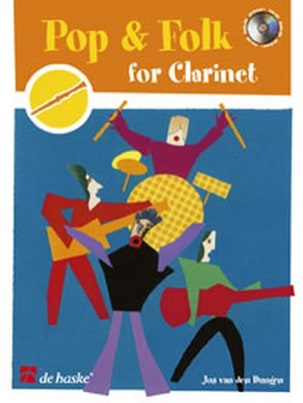 Pop and Folk for Clarinet Jos van den Dungen Partition laflutedepan
