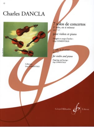 Charles Dancla - Solo Concerto No. 1 op. 77 in B minor - Sheet Music - di-arezzo.co.uk