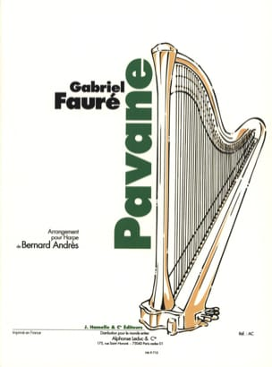 Gabriel Fauré - Pavane - Harp - Sheet Music - di-arezzo.co.uk