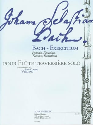 BACH - Bach-Exercitium - Sheet Music - di-arezzo.co.uk