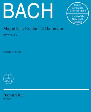 BACH - Magnificat Es Dur BWV 243a - Conducteur - Partition - di-arezzo.fr