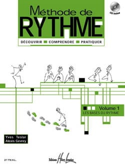 Teslar Yves / Gevrey Alexis - Rhythm Method Volume 1 - Sheet Music - di-arezzo.co.uk