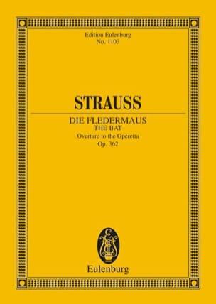 Die Fledermaus Johann (Fils) Strauss Partition laflutedepan