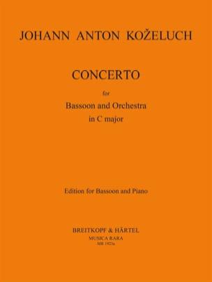 Concerto Pour Basson En Do Maj. - Basson et Piano laflutedepan