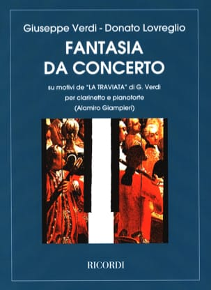 Donato Lovreglio - The Traviata - clarinetto pianoforte - Sheet Music - di-arezzo.co.uk