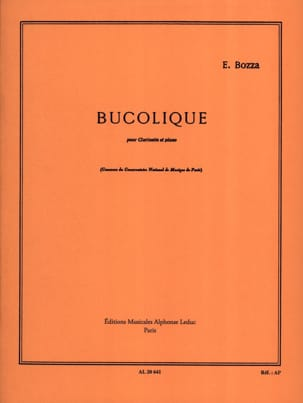 Eugène Bozza - Bucolic - Sheet Music - di-arezzo.co.uk