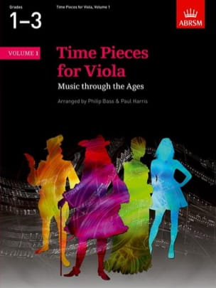 Bass Philip / Harris Paul - Time Pieces For Viola Volume 1 - Sheet Music - di-arezzo.com