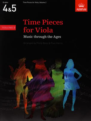 Bass Philip / Harris Paul - Time pieces for Viola, Volume 2 - Partition - di-arezzo.fr