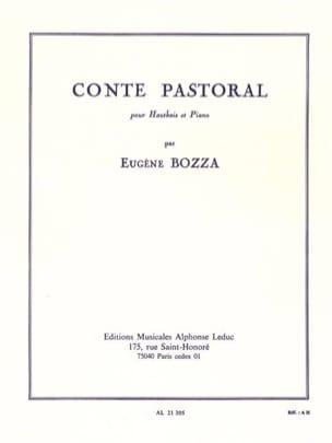 Eugène Bozza - Conte pastoral - Partition - di-arezzo.fr