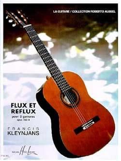 Flux et Reflux op. 165b -2 guitares - laflutedepan.com
