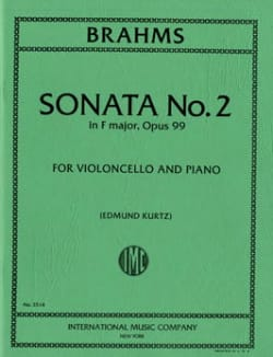 Sonata n°2 in F major op. 99 - BRAHMS - Partition - laflutedepan.com