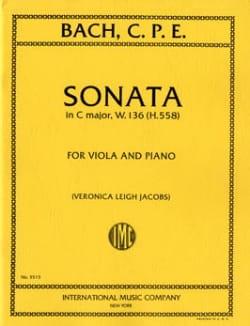 Sonate C major, W. 136 H. 558 - Viola - laflutedepan.com