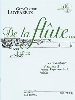 Guy-Claude Luypaerts - From the flute ... - Volume 3 - Sheet Music - di-arezzo.com