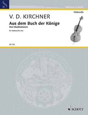 Volker David Kirchner - Aus dem Buch der Könige - Partitura - di-arezzo.es