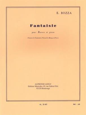 Eugène Bozza - Fantaisie - Partition - di-arezzo.fr