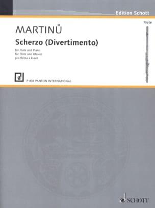 Scherzo Divertimento - Bohuslav Martinu - laflutedepan.com