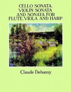 Cello Sonata, Violin Sonata and Sonata for Flute, Viola and Harp - Full Score - laflutedepan.com