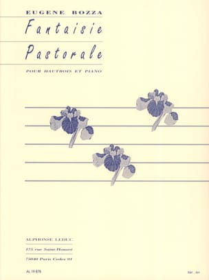 Fantaisie pastorale Eugène Bozza Partition Hautbois - laflutedepan
