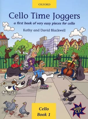 Cello Time Joggers Book 1 Partition Violoncelle - laflutedepan