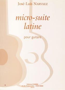 José-Luis Narvaez - Micro-suite latine - Partition - di-arezzo.fr