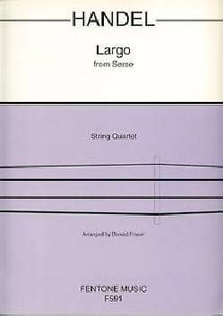 Largo - String Quartet - HAENDEL - Partition - laflutedepan.com