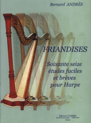 Bernard Andrès - Treats - Harp - Sheet Music - di-arezzo.co.uk