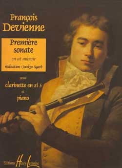 François Devienne - 1st Sonata In C Minor - Clarinet - Sheet Music - di-arezzo.co.uk