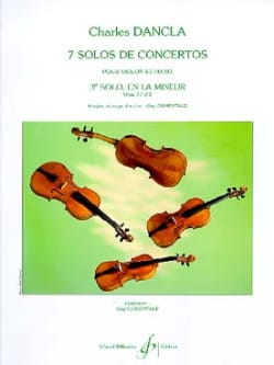 DANCLA - Solo Concerto No. 3 op. 77 in A minor - Sheet Music - di-arezzo.com