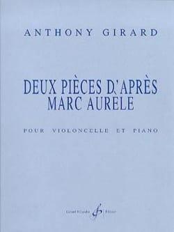 Anthony Girard - 2 Pièces d'après Marc Aurèle - Partition - di-arezzo.fr