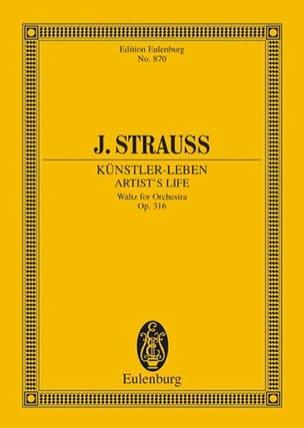 Künstlerleben - Johann (Fils) Strauss - Partition - laflutedepan.com