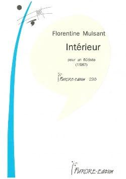 Florentine Mulsant - Intérieur - Partition - di-arezzo.fr