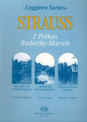 Strauss Johann / Strauss Josef - 2 Polkas und Radetzky-Marsch - Junior String Orch. - Sheet Music - di-arezzo.co.uk