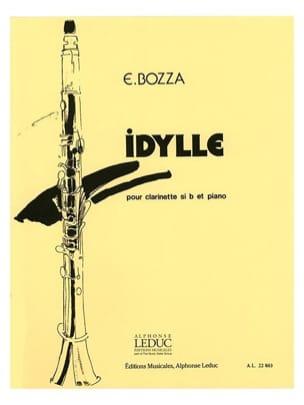 Eugène Bozza - Idylle - Partition - di-arezzo.fr