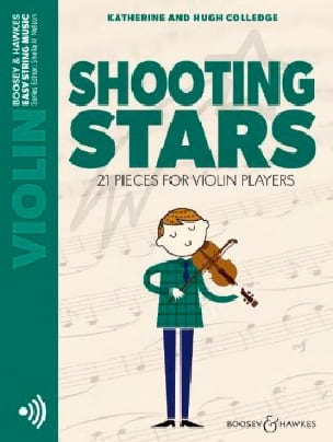 Shooting Stars - Violin and CD - Sheet Music - di-arezzo.com