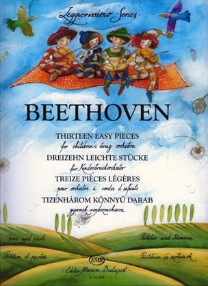 BEETHOVEN - 13 Light Pieces - Children's String Orchestra - Sheet Music - di-arezzo.com