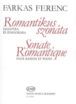 Ferenc Farkas - Sonate romantique - Partition - di-arezzo.fr